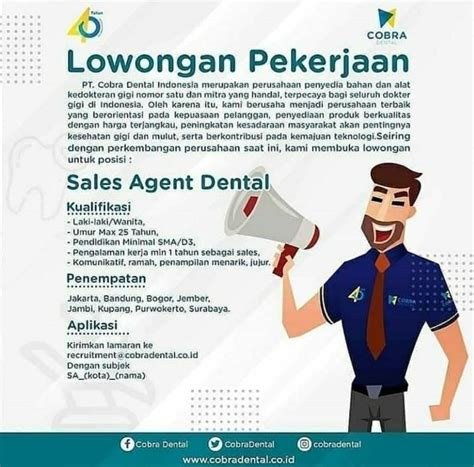 Perawat panti jompo umur : LOKER BANYUWANGI, Lowongan Pekerjaan di PT Cobra Dental Indonesia - Ringtimes Banyuwangi