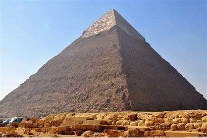 Ancient Pyramid Egypt Khafre Pyramids Egyptian Fondo