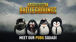 Meet Our PUBG Squad Team Kinguin
