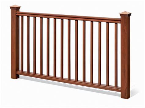 banister kits deck railing kits the home depot canada