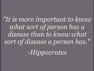 Diseases Hippoc... Ancient Medicine Quotes