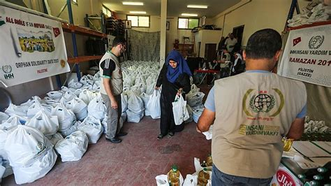 cuisine aid aid agency distributes food aid to gaza s poor
