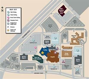 Southwestern Campus Map