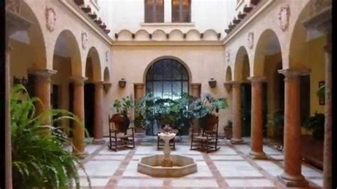 andujar classic spanish town house  enclosed courtyards built   youtube