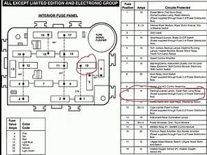 1997 Ford Explorer Fuse Box Diagram