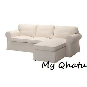 Ikea Ektorp Sofa With Chaise by Ikea Ektorp Cover 3 Seat Sectional Lofallet Beige With