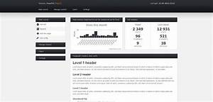 free html css backend admin panel template With simple html admin template