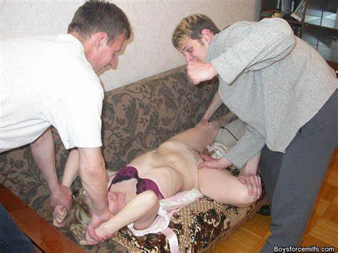 Immature Grandma Forcing His Pole Male Force Housewife