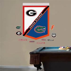 UGA - Florida House Divided Banner Wall Decal Shop