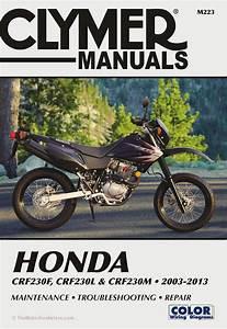 Honda Crf230f  L  M Repair Manual  2003