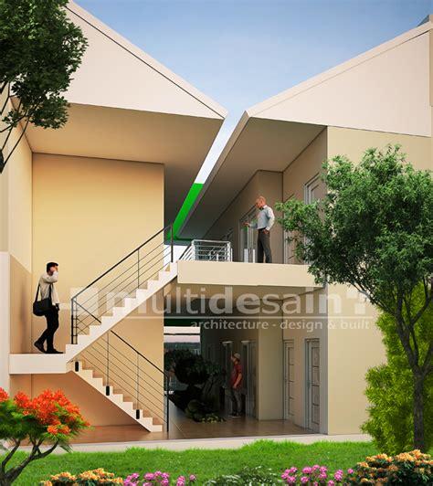rumah kos desain minimalis  bogor multidesain arsitek