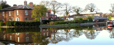 Ellesmere Shropshire a beautiful Market town on the Welsh ...