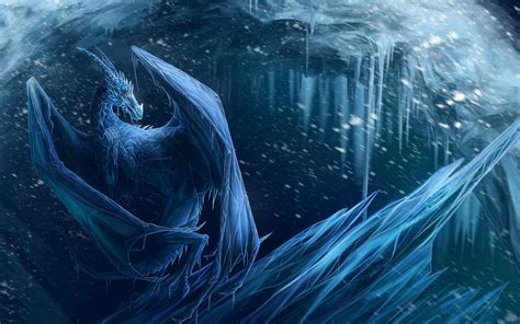 Best Hd Space Wallpapers Photo Collection Ice Dragon Wallpaper Widescreen