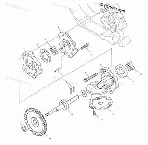 Polaris Atv 2001 Oem Parts Diagram For Oil Pump