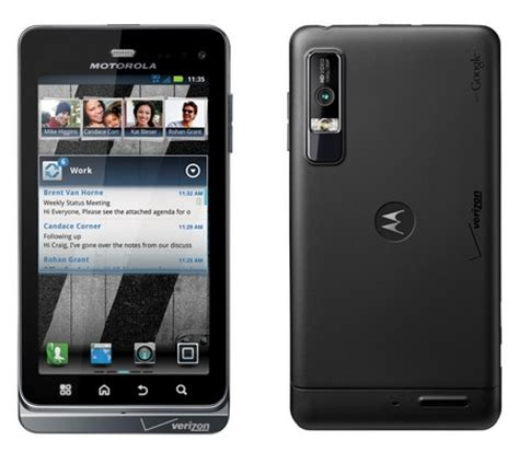 verizon android verizon motorola droid 3 android smartphone review and