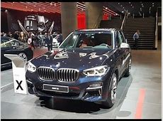 BMW X3 M40i IAA 2017 YouTube