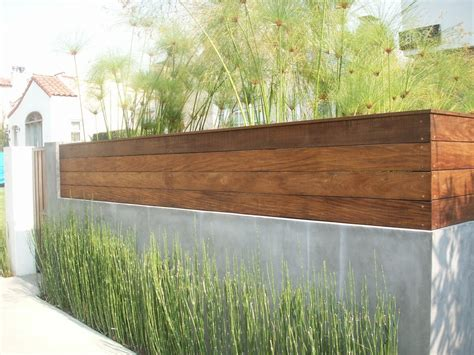 stucco fence ideas like the plantings as well as the fence smooth stucco and ipe wood fence attic ideas