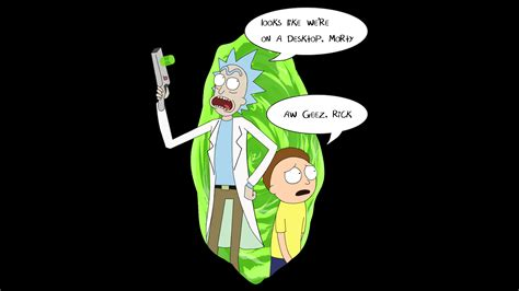 Windows 10 Abstract Wallpaper Rick And Morty Wallpaper Found In R Pcmasterrace By Douglas Tofoli Dreamsky10 Com Best
