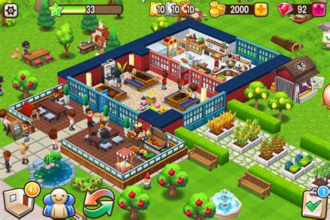 Food Games Food Street Restaurant Management Food Game Android