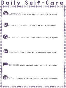 stress management relaxation worksheets  handouts
