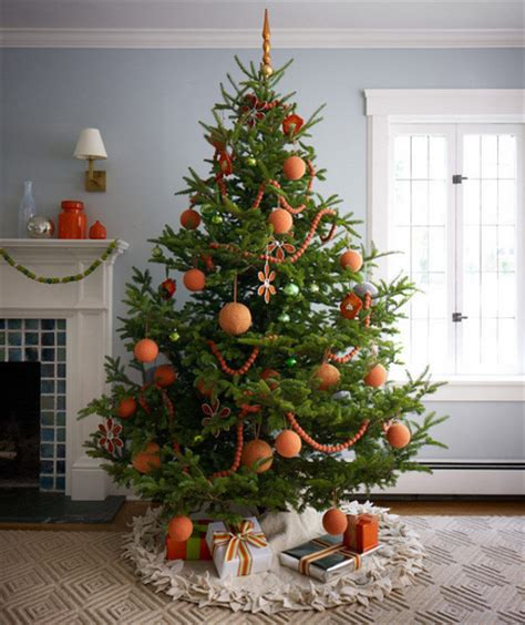 modern decorated christmas trees modern tangerine christmas tree pictures photos and images for facebook tumblr pinterest