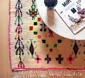Grand Tapis Berbere : love les tapis berb res bohemian chic interior ~ Teatrodelosmanantiales.com Idées de Décoration