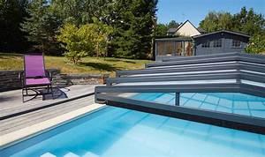 Abri De Terrasse Coulissant : abri piscine bas mod les t lescopiques coulissants ~ Dode.kayakingforconservation.com Idées de Décoration