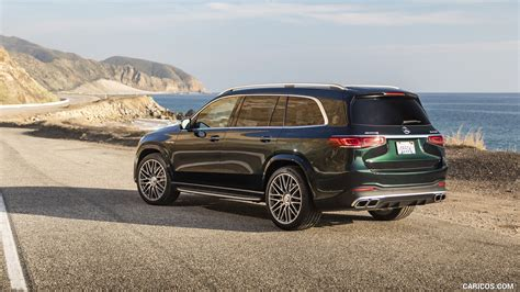 Modern luxury both on and off orange county roads: 2021 Mercedes-AMG GLS 63 (US-Spec) - Rear Three-Quarter | HD Wallpaper #44