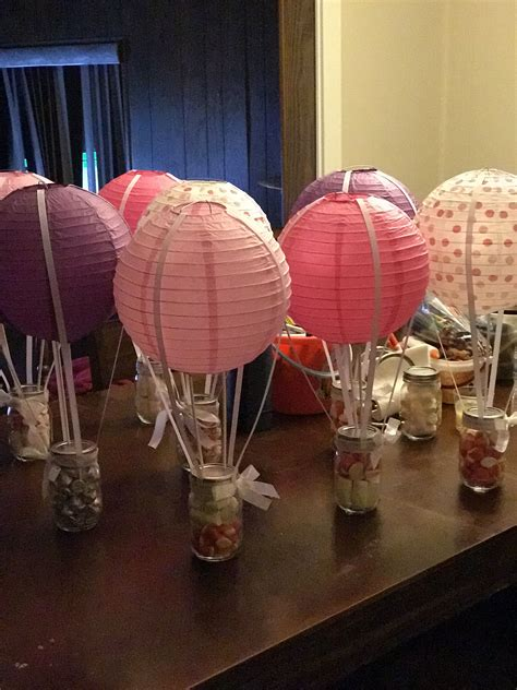 Air Decorations - air balloon centerpieces baby shower in 2019
