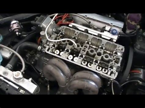 replace valve stem seals  cylinder head  youtube