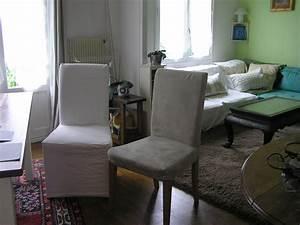 Ikea Salle A Manger : housses chaises ikea ~ Teatrodelosmanantiales.com Idées de Décoration