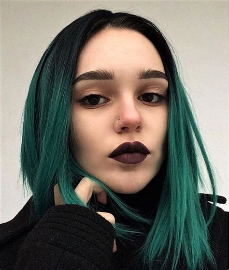 hair dye style 25 green hair color ideas you to see 6514