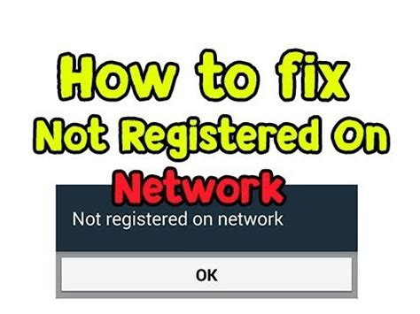 how to fix not registered on network in imei null null