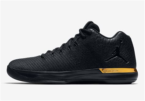 Release Date Air Jordan 31 Low Triple Black •