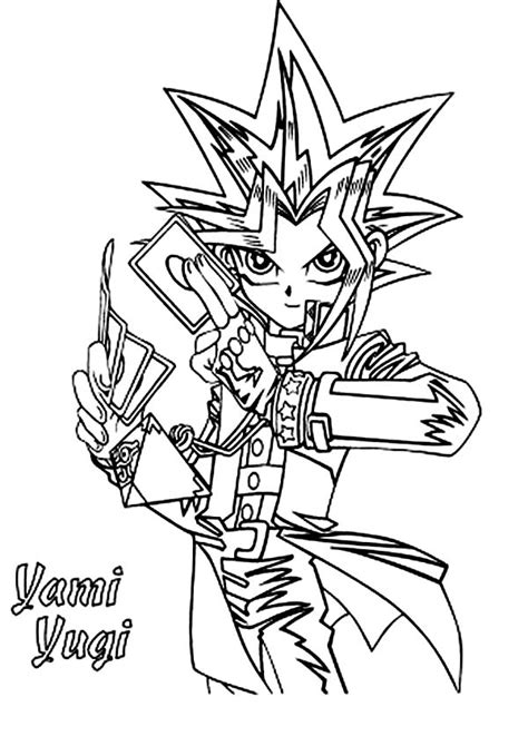 Yu gi oh to download - Yu Gi Oh Kids Coloring Pages | 670x474