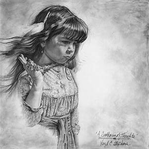 Native American art A Gathering Of Thoughts print of a