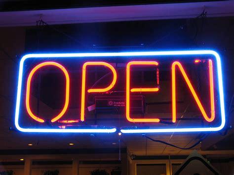 shop neon open sign shop