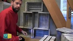 Caisse De Pomme : biblioth que avec des caisses de pommes partie 2 2 apple crate bookshelf youtube ~ Teatrodelosmanantiales.com Idées de Décoration