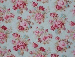 Vintage Floral Print Fabric | www.pixshark.com - Images ...