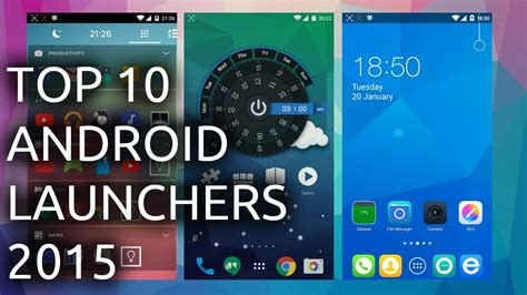launchers for android free top android launchers for 2015 available