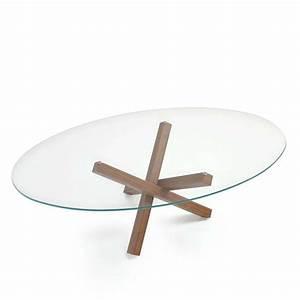 Table Verre Salle A Manger : table de salle manger ovale design en verre aikido sovet 4 pieds tables chaises et ~ Melissatoandfro.com Idées de Décoration