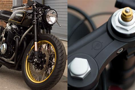 cafe racer parts cognito moto fork swap kits return