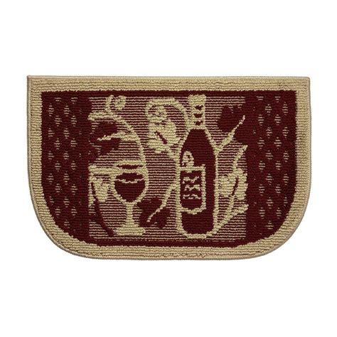 Kitchen Rugs At Home Depot by Structures Wine Tasting 18 In X 30 In Kitchen Rug