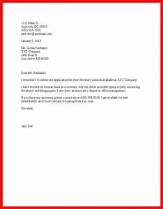 basic cover letter sample apa example With cover letter format for job