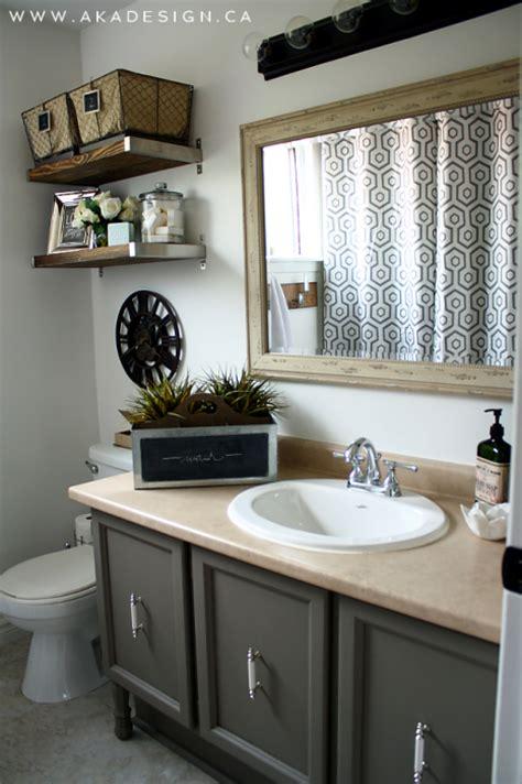 glam bathroom vintage industrial glam bathroom reveal Farmhouse