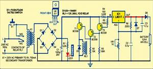 Auto Turn Off Battery Charger Circuit Diagram