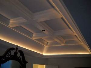 Tray/Coffered Ceiling - Traditional - Bedroom - other ...
