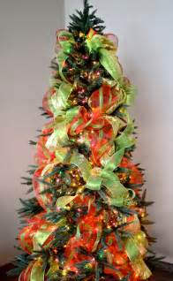 how to decorate a christmas tree with ribbon louisiana best template collection