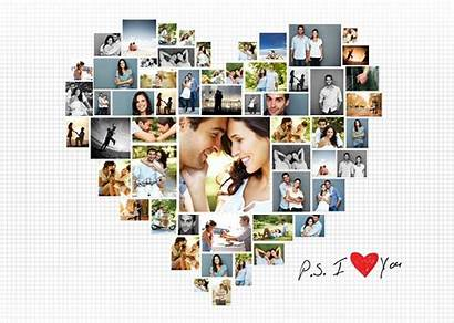 Collage Poster Layouts Heart Awesome Photobook Layout