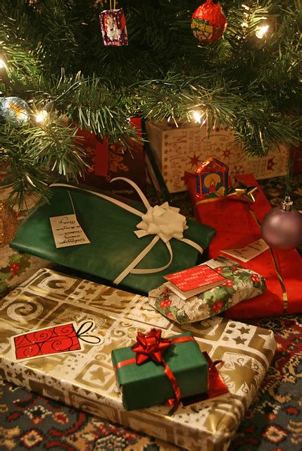 christmas ideas that start with a r presents the tree presents flickr